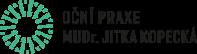Logo: Oční praxe MUDr. Jitka Kopecká